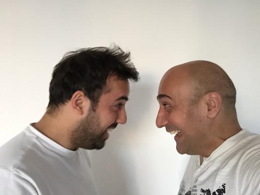 Tolga are Özkan motivating each other.